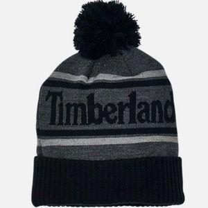 🖤 Timberland Color Block Pom Beanie NWT 🖤
